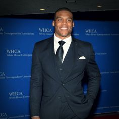 Cam looking handsome at the White House Correspondents Dinner