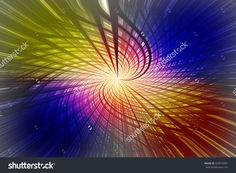 Moving colorful lines of abstract background.
