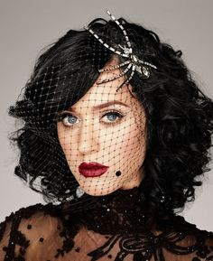 Katy Perry. Portraits (I believe this was taken by Martin Schoeller, who is quickly become one of my favorite photographers.)