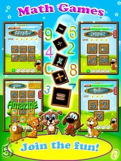Math Puppy – Bingo Challenge Educational Game for Kids HD