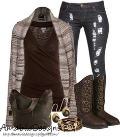 """Ugg/Burr it is snowing again in CO"" by amabiledesigns on Polyvore"