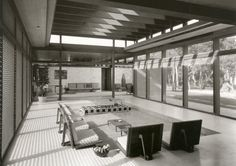 Theodore Burkhardt-Cohen House. 1957.Casey Key, Sarasota Florida. Paul Rudolph