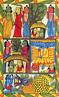 kalighat-paintings/stories-of-ramayana