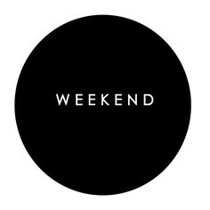 """""""weekend"""", black & white 
