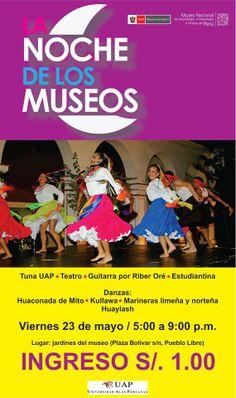 Noche de los Museos en el MNAAHP