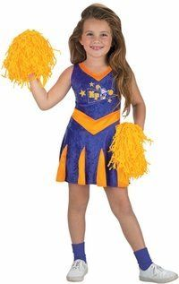 Child's Kim Possible Cheerleader Halloween Costume (Size: Small 4-6) by BOS. $35.99