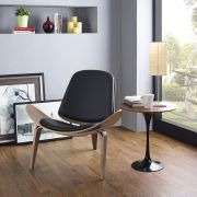 Introduce a vintage touch to your home's décor with the Modway Arch Lounge Chair. Crafted of molded wood, this vinyl padded seat pays homage to a retro design trend that is now back in style. Display this chair in any room to jump start the conversation. Contemporary Home Furniture, Cool Furniture, Furniture Logo, Furniture Dolly, Antique Furniture, Furniture Ideas, Ottawa, Lounge Areas, Lounge Chairs