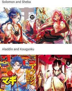 It's meant to be!!! - Aladdin and Kougyoku | Magi