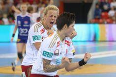 Larvik Isabell Blanco and Anja Edin- Hammerseng