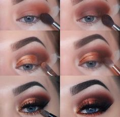 If you would like enhance your eyes and also improve your attractiveness, having the best eye make-up recommendations can help. You want to be sure you wear make-up that makes you look even more beautiful than you are already. Makeup Goals, Love Makeup, Diy Makeup, Makeup Inspo, Makeup Ideas, Prom Makeup, Makeup Geek, Makeup For Navy Dress, Makeup 2018