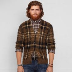 Tartan Cardigan - Denim & Supply  Cardigans - RalphLauren.com