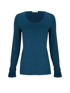 Planet Teal long sleeve jersey top Dark Green - House of Fraser