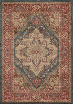 RugStudio presents Momeni Ghazni GZ-05 Navy Machine Woven, Better Quality Area Rug