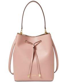 Lauren Ralph Lauren Dryden Debby Drawstring Leather Drawstring Bags 056e45f3e04c6