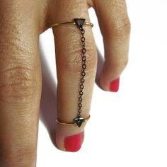 OOH I'm digging these above the knuckle ring- gold filled knuckle rings on etsy by virginiemillefiori