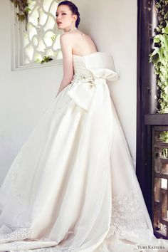 Yumi Katsura Spring 2013 Wedding Dresses | Wedding Inspirasi