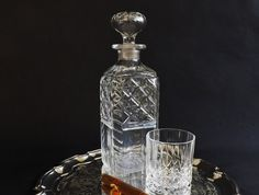 Crystal Scotch Whisky Spirit Decanter by CuriosAnCollectibles