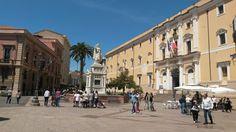 Piazza Eleonora d'Arborea #Oristano