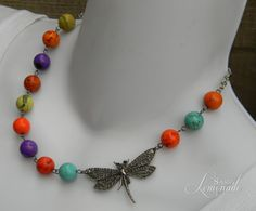 Dragonflies in Summer Large Bold Reconstructed by SassyLemonade, $25.00