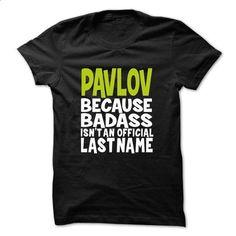 PAVLOV BadAss - #wedding gift #funny gift