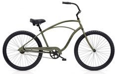 Head out for a adventure knowing you'll look cool and feel comfortable. Great for cruising the boardwalk or a trip into town, the Electra Cruiser 1 has everything you need for a great ride. Electra Beach Cruiser, Beach Cruiser Bikes, Cruiser Bicycle, Electra Bicycles, Electra Bike, Tribe Sports, Surf, Bicycle Store, Cycle Chic