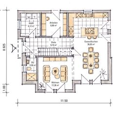 Musterhaus Madeleine - Erdgeschoss