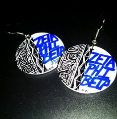 Embrace your Afrocentric side with these BOLD earrings!Available in the following Sororities:Alpha Kappa AlphaDelta Sigma ThetaZeta Phi BetaSigma Gamma Rho