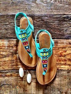 Layke Sandal - Seafoam – Bungalow 123 $34