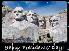 Friends Of Liberty: Happy Presidents' Day weekend : Talking Politics...
