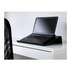 "BRÄDA Laptop support, black - 16 1/2x12 1/4 "" - IKEA"