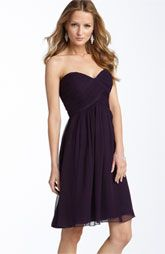Love the color.  Jenny Yoo Collection Convertible Shantung Dress