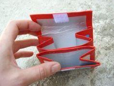 Peňaženka z Tetrapaku