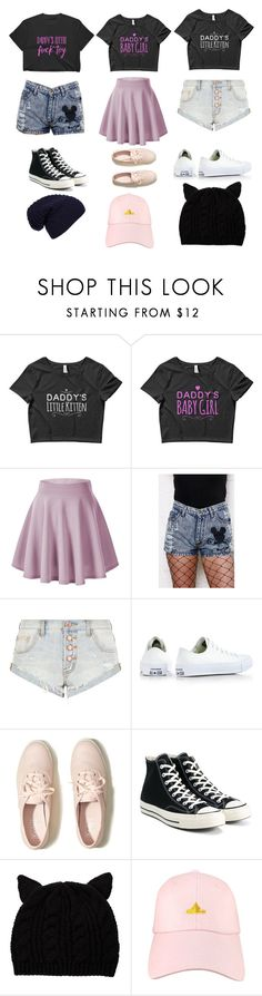 """""""daddy's little"""" by nichole-winslett on Polyvore featuring OneTeaspoon, Converse, Hollister Co., Siggi and WithChic"""