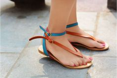 Street Style Store Multicolor Solid Flats Chappals  #Chappal #Multicolor