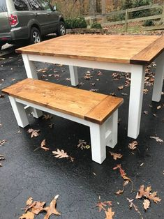Farmhouse Tables - Into The Woods - Custom Farmhouse Tables | Into The Woods - Custom Farmhouse Tables Farmhouse Table For Sale, Woods, Tables, Dining Table, Rustic, Furniture, Home Decor, Mesas, Country Primitive