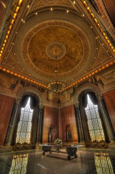 Pierpoint Morgan Library in NYC, one of the grandest libraries in the U.S.