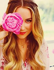 lauren conrad ombre (love the highlights right around her face)