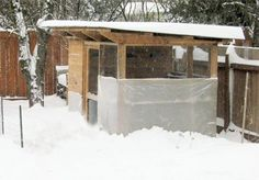 Winter Chicken Coop Care Tips & Plans, Part. 1 (of 4 parts)::: Coop Thoughts Blog. >Sensible checklist & ideas to keep the gang healthy & happy during the long winter months.