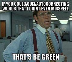 Spelling Correction Fail