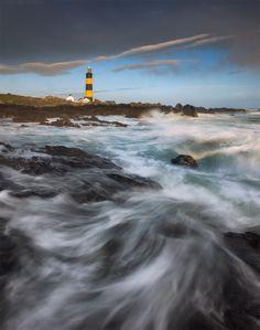 Photo The Irish bee by Daniel Korzhonov on Beacon Tower, Lighthouse Photos, Lighthouse Keeper, Beacon Of Light, Beautiful World, Irish, Ireland, Bee, Clouds