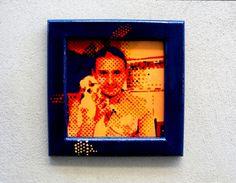 """Pop Art Portrait """"Blue"""""""