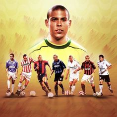 Best Football Players, Vintage Football, Soccer Players, Football Soccer, Ronaldo Inter, Ronaldo 9, Sports Memes, Sports Shirts, Fifa