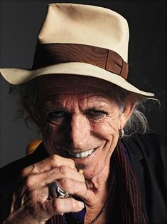 "Keith Richards - admit he's not everyone's choice, however there is ""something"" appealing about Mr. Richards."
