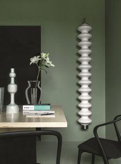 MILANO Wall-mounted decorative radiator by Tubes Radiatori design Antonia… Design Salon, Loft Design, Deco Design, Decorative Radiators, Design Museum, Oak Dining Room, Chair Pictures, Designer Radiator, Radiator Cover