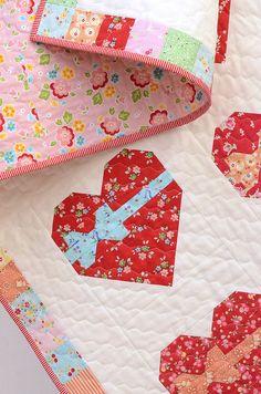Sweetheart Quilt Pattern by Nadra Ridgeway of ellis & higgs
