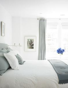 blue and white bedroom gorgeous