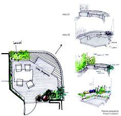 Diseño de jardines, jardines de áticos.