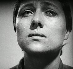 La Passion de Jeanne d'Arc directed by Carl Theodor Dreyer and starring Melle Falconetti
