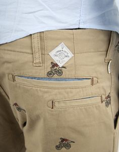 Paul Smith Embroidered Pants (Detail) Bicycle bike cycle sykkel bicicleta vélo bicicletta rad racer wheels fashion