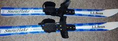 Sidecut Kids Skis SNOWFLAKE 90 cm LL Bean